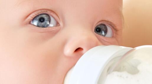 Tåteflasker gir fra seg mye mikroplast