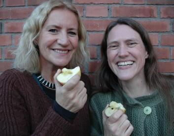 Guri Langholm (t.v.) og Elly Henrikstad Tuset. (Foto: Kari Aamli)