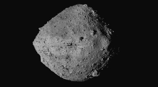 Nasa-romskip gjør landingsforsøk på asteroide