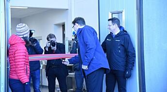 Statssekretær Widar Skogan åpnet Veterinærinstituttets nybygg i Tromsø