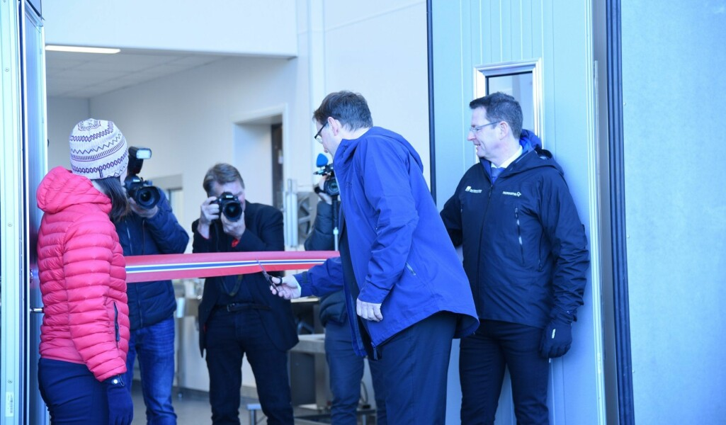 - Dette er en fantastisk dag for Tromsø, for Nord-Norge og for Norge, og for det viktige arbeidet som skal skje her, sa statssekretær i LMD Widar Skogan under åpningen av Veterinærinstituttets nye lokaler i Tromsø.