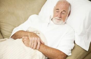 Søvnforstyrrelser påvirker den mentale funksjonen og gjør pasienter med demens mindre rustet til å tåle sykdommen. (Foto: Shutterstock)