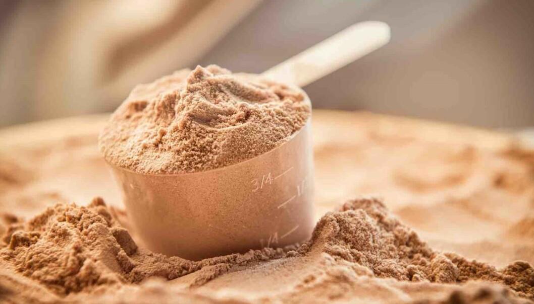 Proteinpulver: Marint restråstoff utgjør en viktig verdiskapende ressurs i norsk fiskeri- og havbruksnæring.