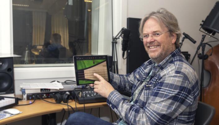 Professor Rune Mathisen ved Nord universitet mener skolen kan ha mye å vinne med å bruke iPad i musikkundervisningen.
