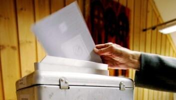 """""""Stemmeseddelen kan brukes til å kvitte seg med politikere som ikke holder mål."""""""