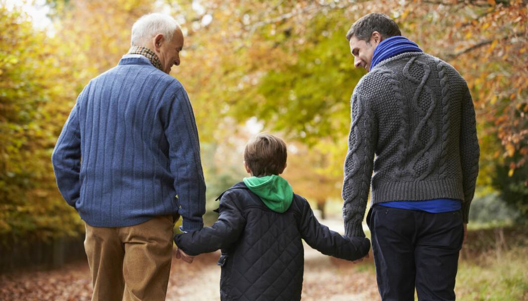 <p>Forskerne finner at eldre som bor sammen med barn hadde like høy dødelighet som de som bor sammen med yngre vokse.<br></p>