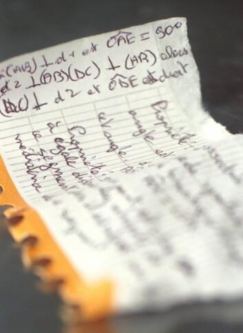 """""""Plagiering er vanlig, ikke bare blant forskere, men også i studentmiljøene, hevder forskerne i brevet."""" (Foto: Colourbox)"""