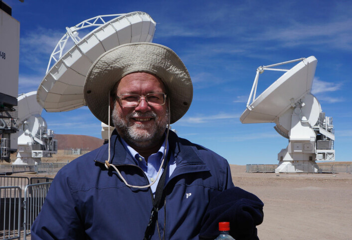 Lars-Åke Nyman. (Foto: Arnfinn Christensen, forskning.no=