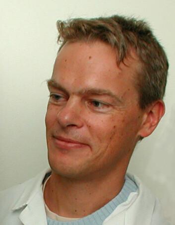 """Edvard I. Moser. (Foto: Bjarne Røsjø)"""