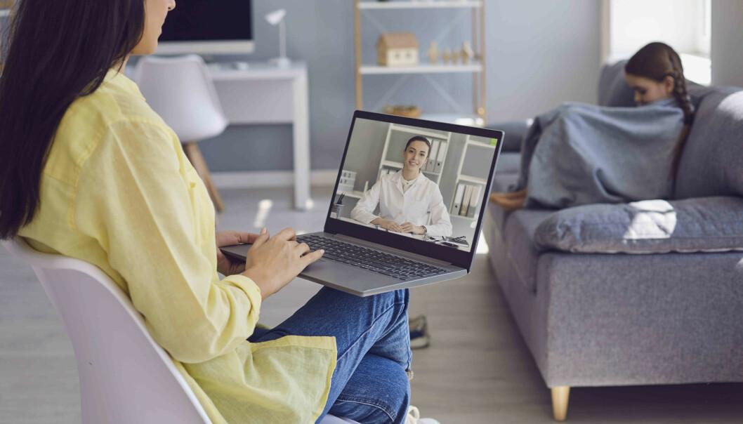 Nær tre av fire pasienter mente at e-konsultasjon førte til bedre oppfølging, ifølge studien.