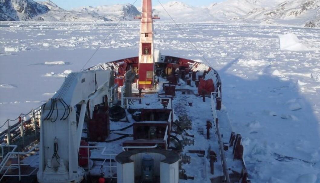 Kostbar issmelting i Arktis