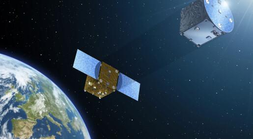Utrolig formasjonsflyvning skal skape kunstig «solformørkelse»