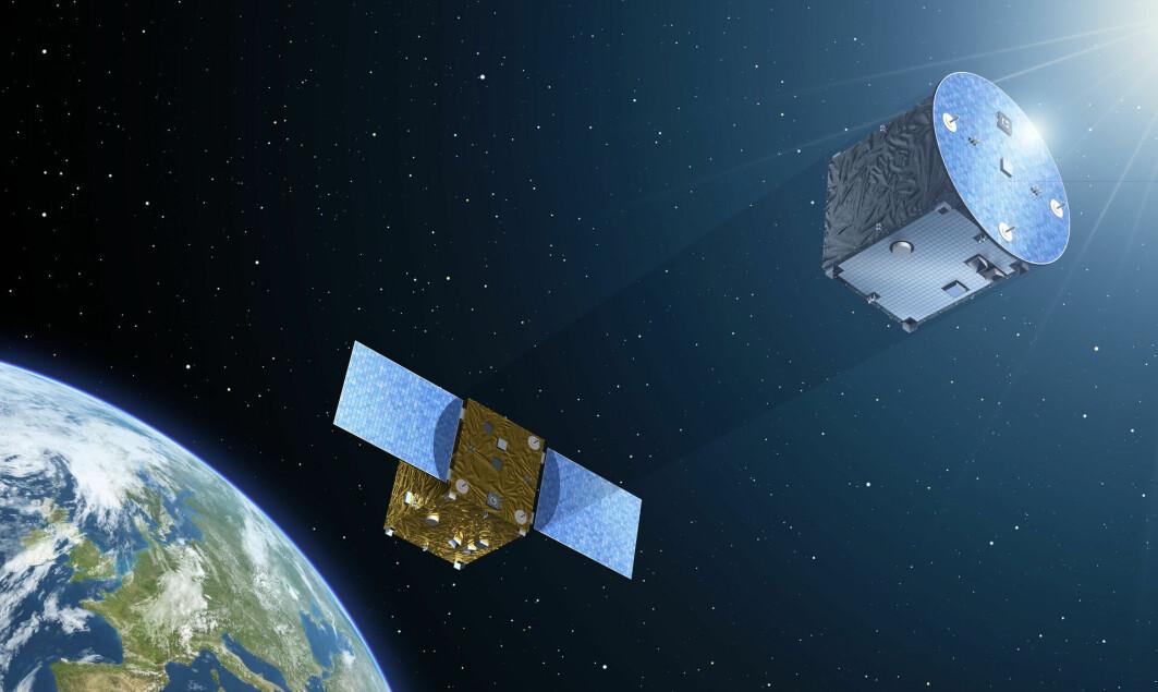 Danske forskere er med på å bygge instrumenter til to nye romfartøy som skal danne et ekstremt presist parløp i rommet – og hjelpe oss med å lære mer om solen.