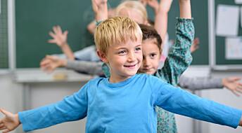 Slik kan elever få mer fysisk aktivitet i teoretiske fag