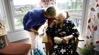 Her er tiltakene som kan få sykepleierne til å bli i eldreomsorgen