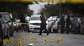 Ubevæpnede svarte amerikanere er svært overrepresentert i politiskytinger