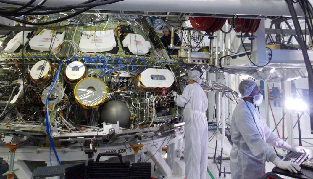 Orion-romskipet er snart klart