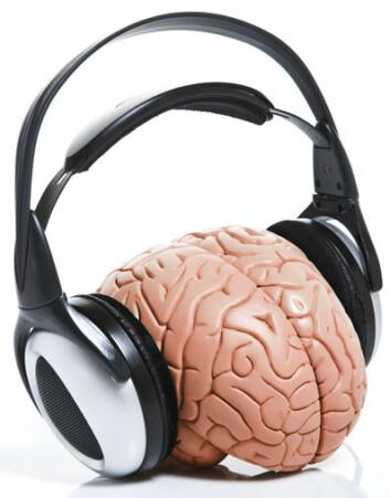 De kjemiske reaksjonene i hjernen ved musikklytting var fokus i undersøkelsen. (Foto: Colourbox)