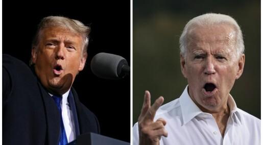 USA-valget vekker sterke følelser