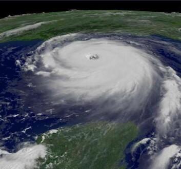 """""""Orkanen Katrina."""""""
