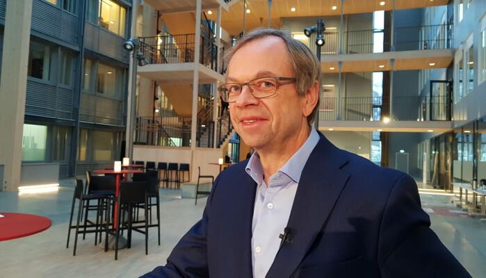 Kenneth Ruud, prorektor, UiT Norges arktiske universitet deltok på debattmøtet onsdag.