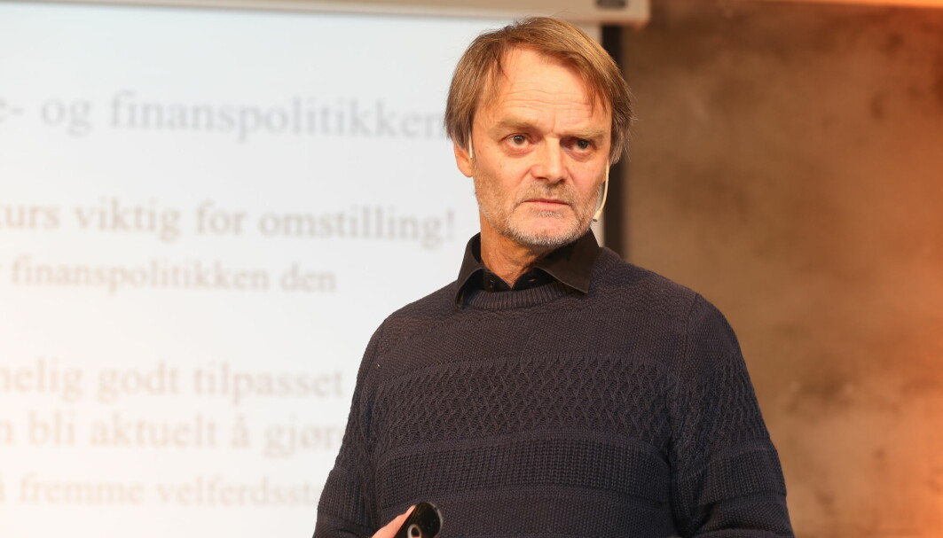 Seniorforsker ved Frischsenteret, Knut Røed, var gjest i et debattmøte arrangert av forskning.no og Norges forskningsråd onsdag. Bildet er tatt ved en annen anledning.