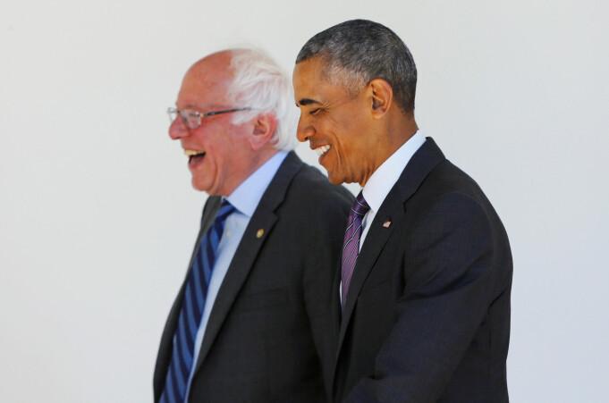 Både Bernie Sanders og Barack Obama har vært opptatt av Den nordiske modellen.