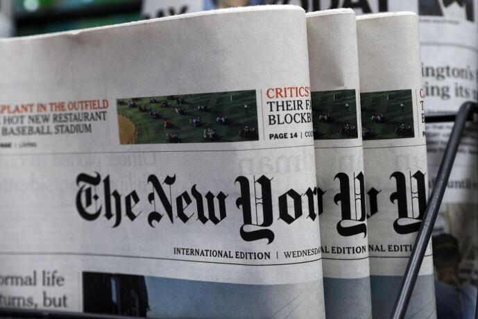 Amerikanske medier var tidligere nøye med å være objektive. Nå tar de i økende grad politisk stilling.