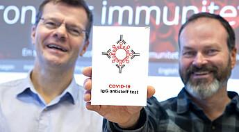 Hjemmetest skal avsløre immunitet mot Covid-19