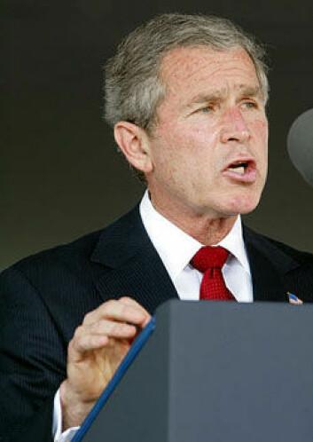 Tidligere president George W. Bush argumenterte for at å investere i karbonfangst ville gi jobber til amerikanere.