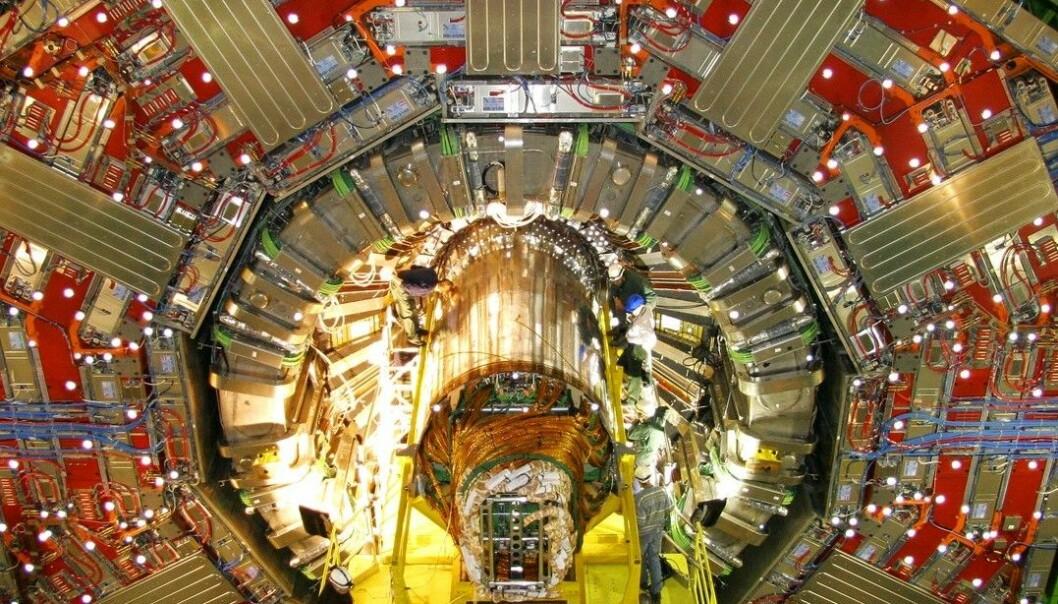 Første glimt av Higgs – kanskje