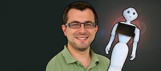 Pierre vil lære roboter menneske-språk