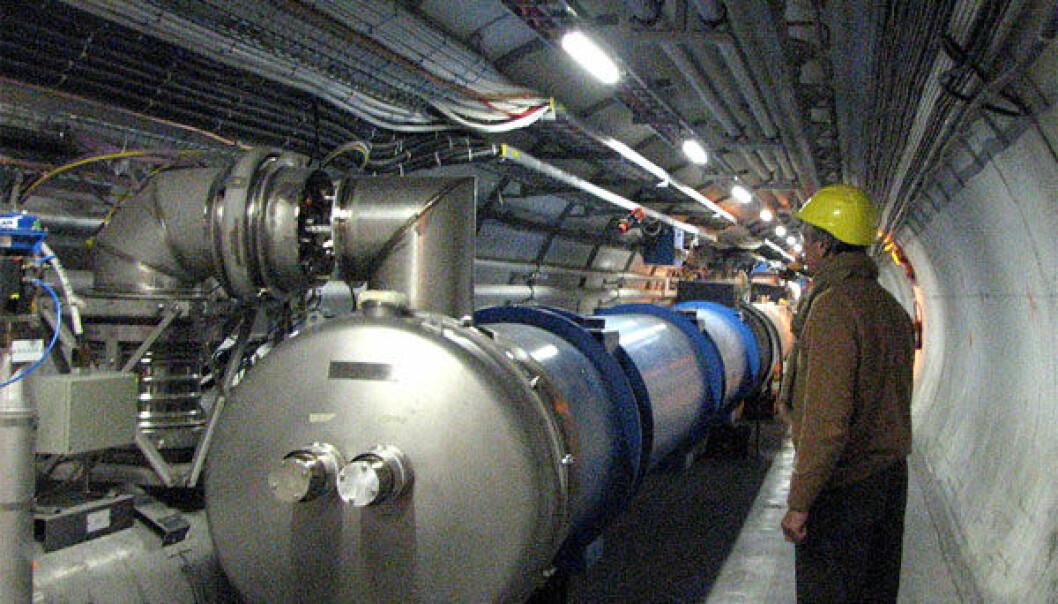 """LHC-tunnelen <a href=""""http://www.flickr.com/photos/muriel_vd/984857339/"""">µµ</a>"""