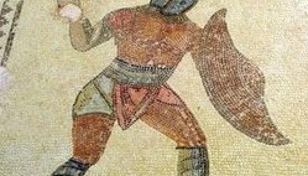 Antikk mosaikk fra Kourion, Kypros. www.colourbox.no
