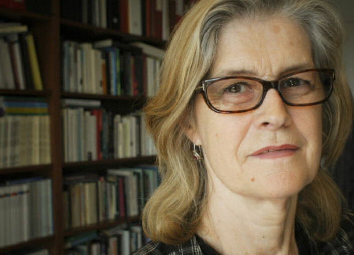Professor i sosialantropologi, Elisabeth L'orange Fürst. (Foto: Erik Martiniussen)