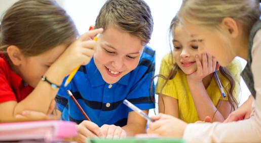 De andre i klassen betyr mer for sosial utvikling enn forholdet til læreren