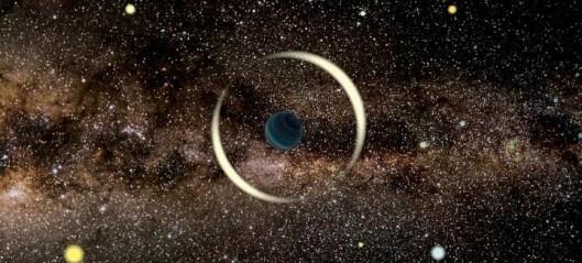 Forskerne fant en enslig liten planet uten stjerne