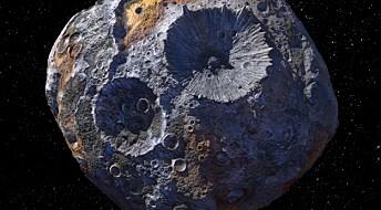 Denne asteroiden kan være verdt omtrent 100 000 000 000 000 000 000 kroner