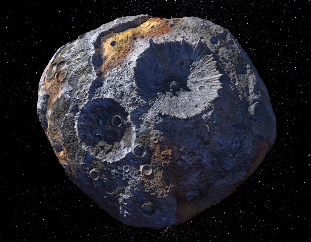 Asteroiden 16 Psyche er kanskje en kjernen til en flådd planet. Kan den fortelle oss noe om vår egen planets kjerne?