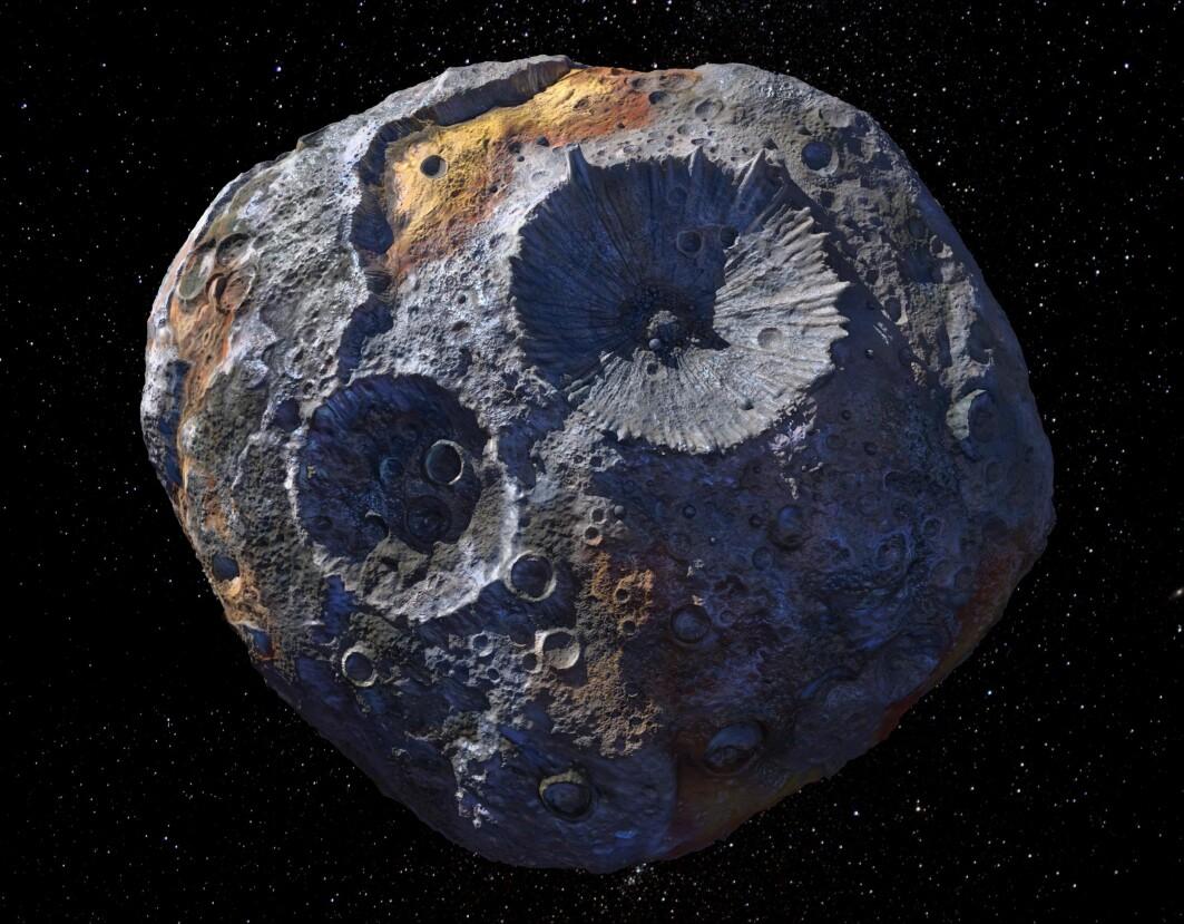 Asteroiden 16 Psyche er kanskje kjernen til en flådd planet. Kan den fortelle oss noe om vår egen planets kjerne?