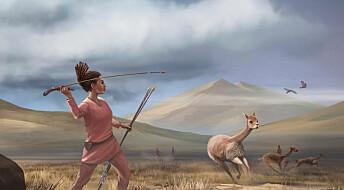 Steinalder-kvinnene var også jegere