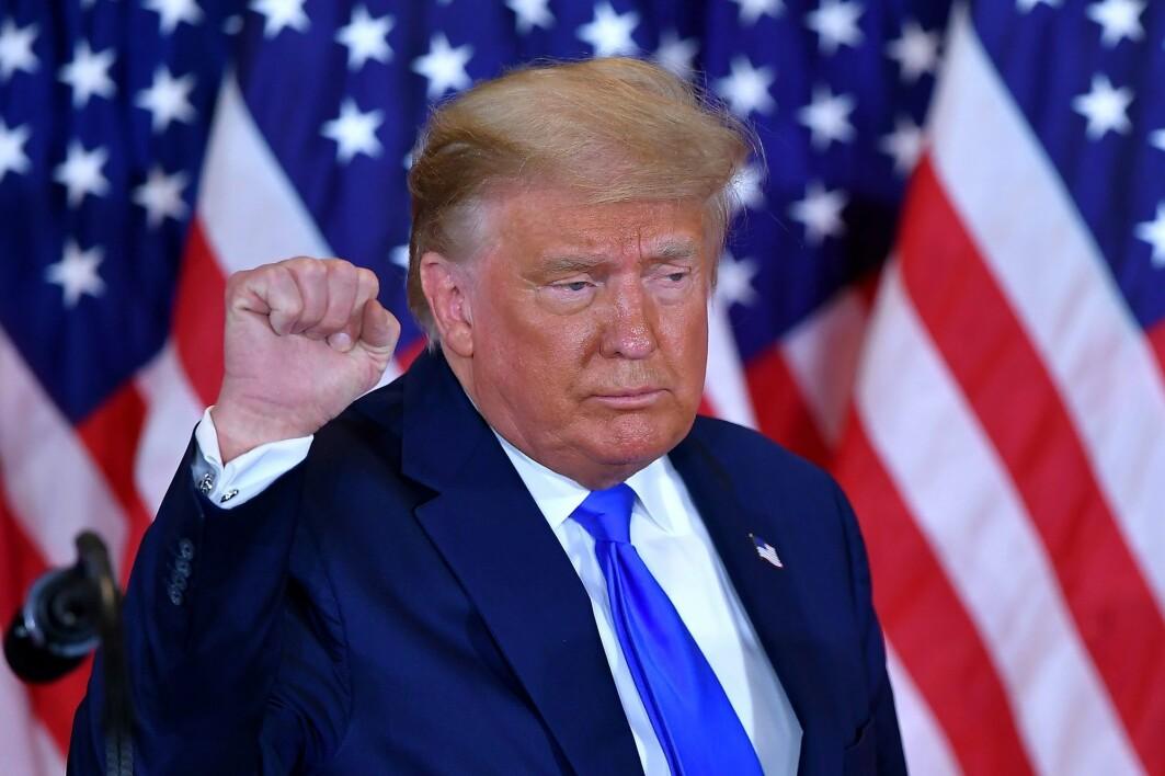 Tidlig onsdag morgen norsk tid erklærte Donald Trump seier i det amerikanske valget, på tross av at mange forhåndsstemmer ennå ikke er blitt talt opp.