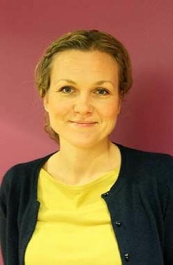 Silje Mæland ved HiB ledet forskningsprosjektet som viser at NAV sin sykefraværsstatistikk er misvisende. (Foto: Maria Gabriela Fehr Johansen)