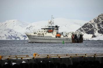 Forskningsfartøyet «G.O. Sars». (Foto: Kjartan Mæstad/Havforskningsinstituttet)