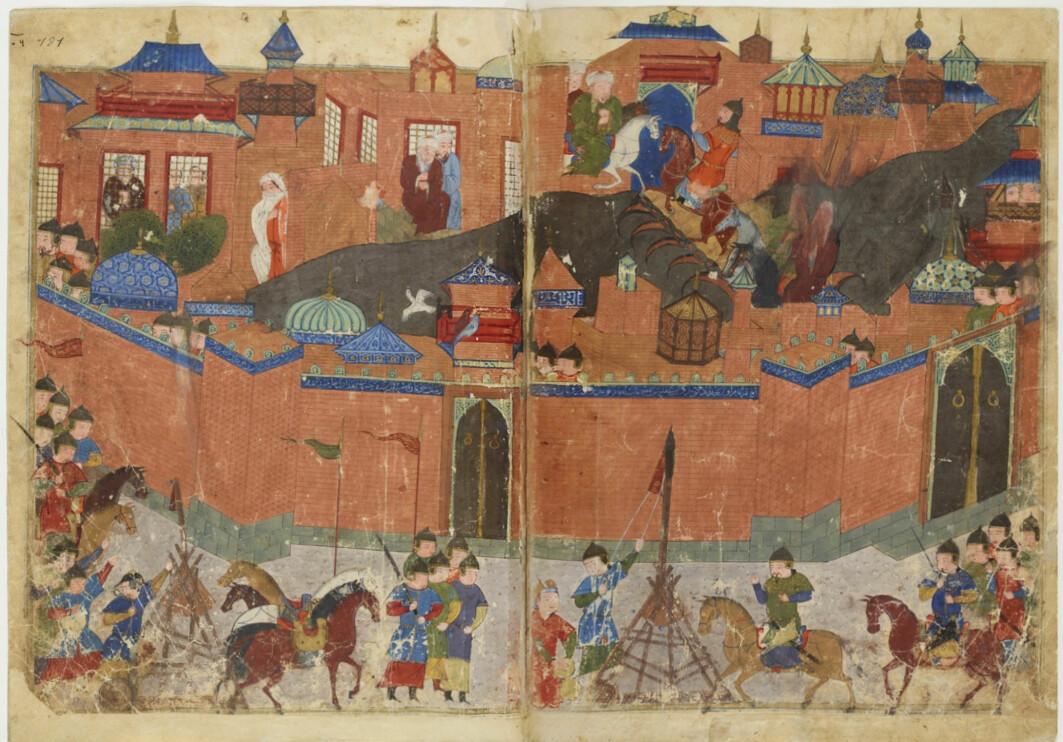 Den mongolske beleiringen av Baghdad i 1258