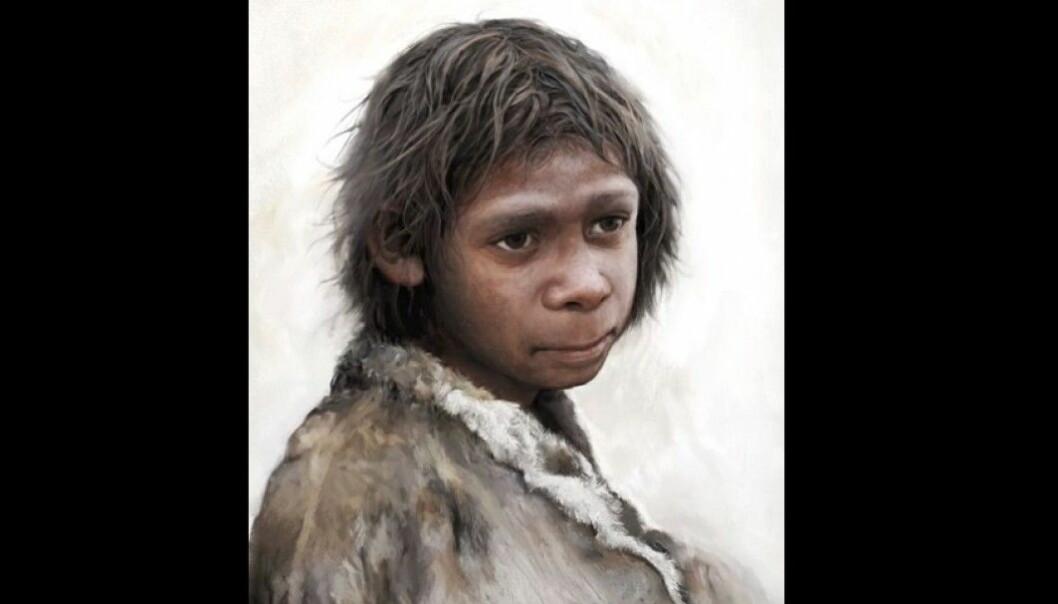 Små neandertalerbarn vokste opp i samme tempo som oss, peker to studier mot.