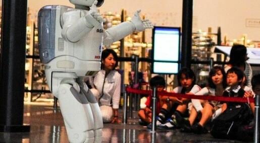 Roboter skal ta eldrebølgen