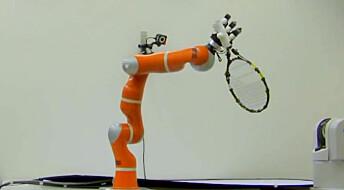 Lynrask robot-arm tar i mot