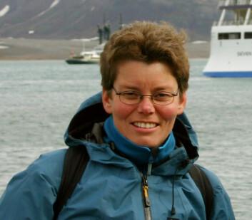 Birgit Njåstad. (Foto: Ann Kristin Balto, Norsk Polarinstitutt)