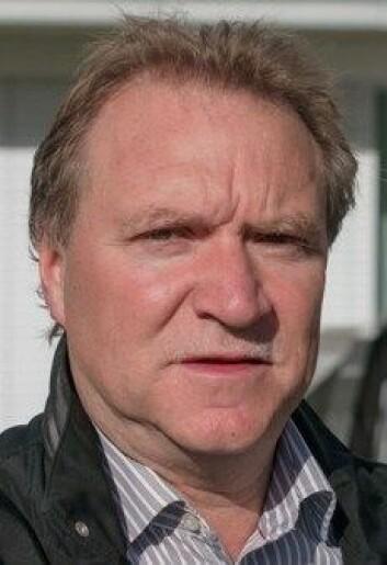Nils Vagstad i Bioforsk. (Foto: (Foto Ragnar Våga Pedersen))